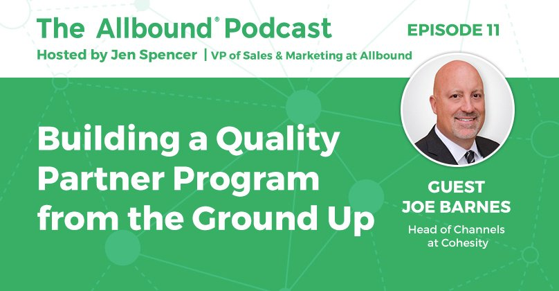 The Allbound Podcast with Joe Barnes